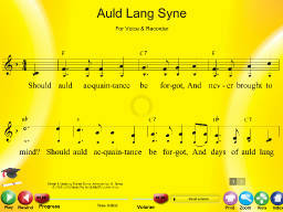 Auld Lang Syne - SongTorch Multimedia File