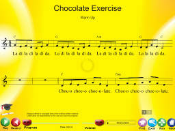Chocolate Exercise - SongTorch Multimedia File