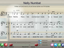 Nelly Numbat - SongTorch Multimedia File