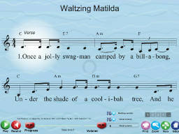 Waltzing Matilda - SongTorch Multimedia File