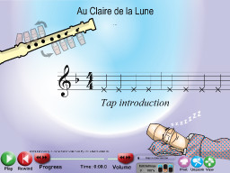 Au Clair de la Lune - SongTorch Multimedia File