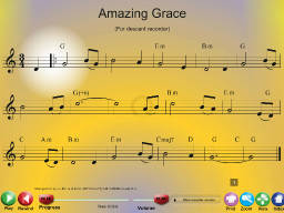 Amazing Grace - SongTorch Multimedia File