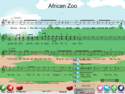 African Zoo - SongTorch Multimedia File