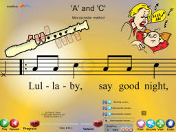 'A' and 'C' - SongTorch Multimedia File