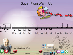 Sugar Plum Warm Up - SongTorch Audio & Notation File
