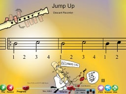 Jump Up - SongTorch Audio & Notation File
