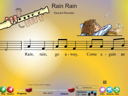 Rain Rain - SongTorch Audio & Notation File
