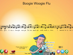 Boogie Woogie Flu - SongTorch Audio & Notation File