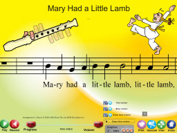 Mary Had a Little Lamb - SongTorch Multimedia File