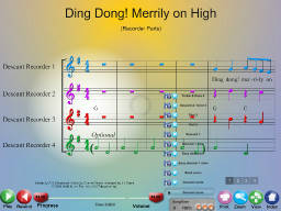 Ding Dong Merrily on High - SongTorch Multimedia File