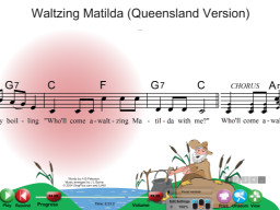 Waltzing Matilda (QLD version) - SongTorch Multimedia File