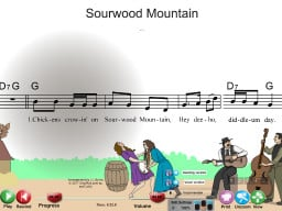 Sourwood Mountain - SongTorch Multimedia File
