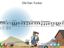 Old Dan Tucker - SongTorch Audio & Notation File