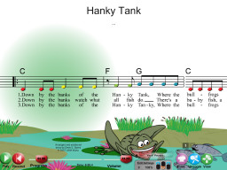 Hanky Tank - SongTorch Audio & Notation File