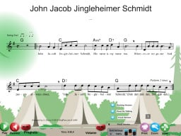 John Jacob Jingleheimer Schmidt - SongTorch Audio & Notation File