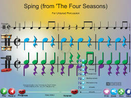 Spring (from 'Four Seasons) - SongTorch Multimedia File