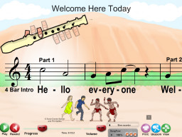 Welcome Here Today - SongTorch Multimedia File