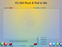 It's Still Rock & Roll to Me - SongTorch Audio Only File