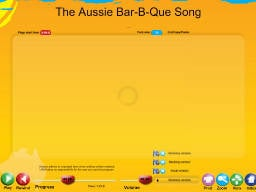 Australia 2010 SongTorch Files