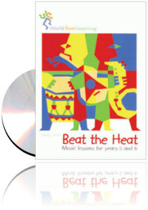 World Beat Learning - Beat the Heat CD & Book RRP$38